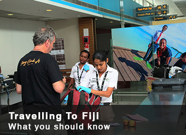 Traveling to Fiji